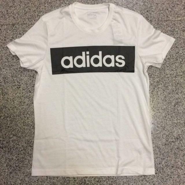 Adidas 休閒T 大LOGO