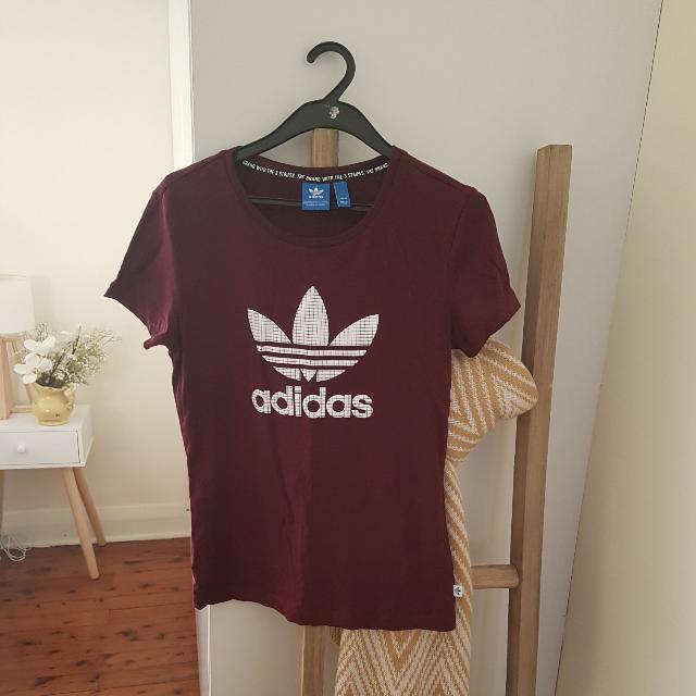 Adidas Top Size 10 Maron