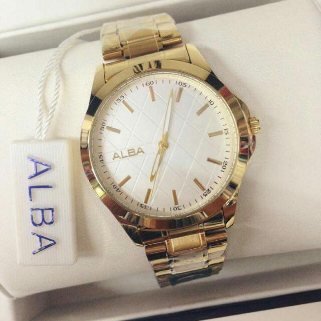Alba stainless watch