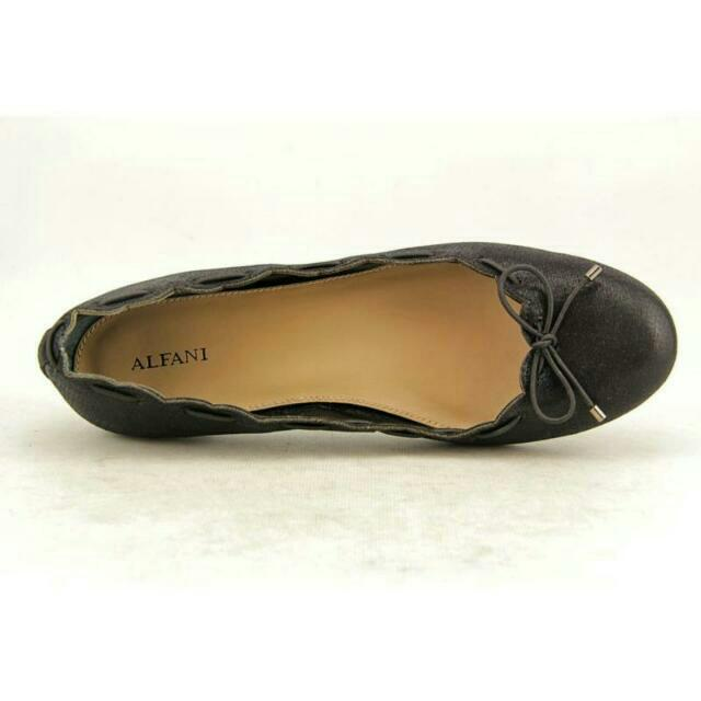 💖Alfani JOESIE Bow Black Ballet Shoes 💖