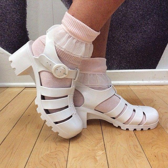 AMERICAN APPAREL Jellies/Jelly Sandals