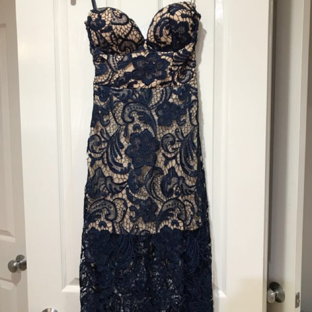 Angel Biba Lace Cocktail Dress