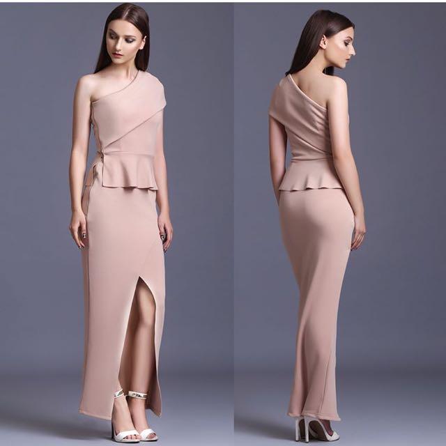 Aquaviva One shoulder dress