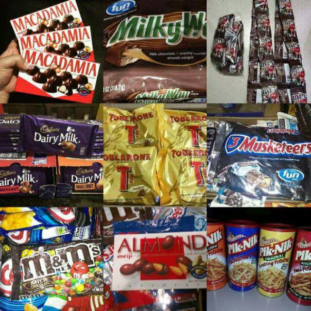 Assorted Imported Chocolates