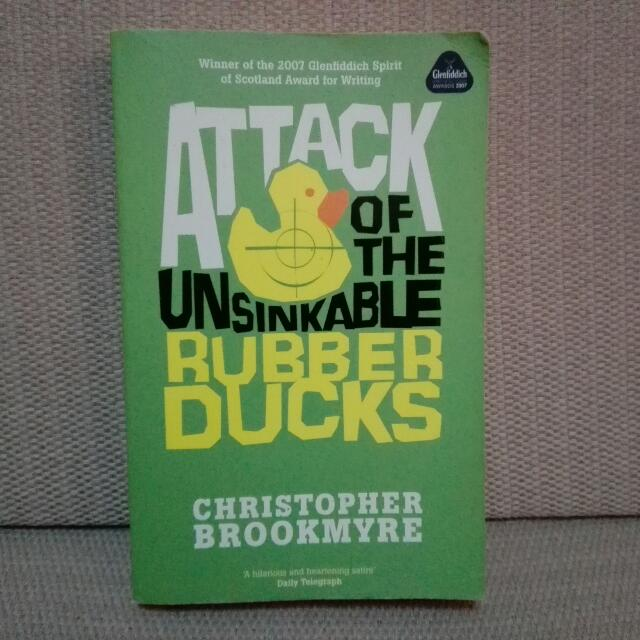 "🎆SALE!! 🌟""Attack Of The Unsinkable Rubber Ducks"""