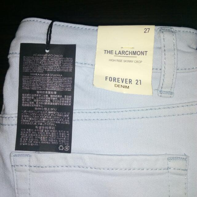 Authentic Brand New Forever 21 High Waist Pants.