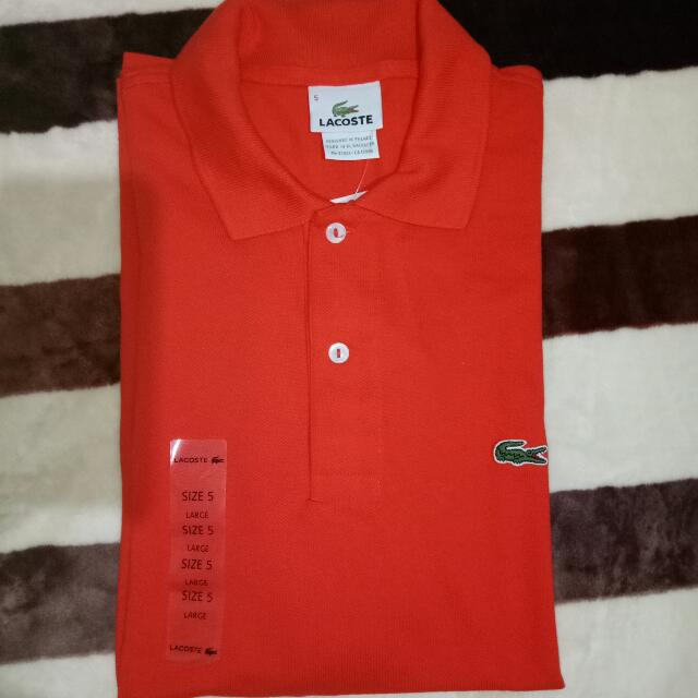 Authentic Lacoste Polo Shirt 😊