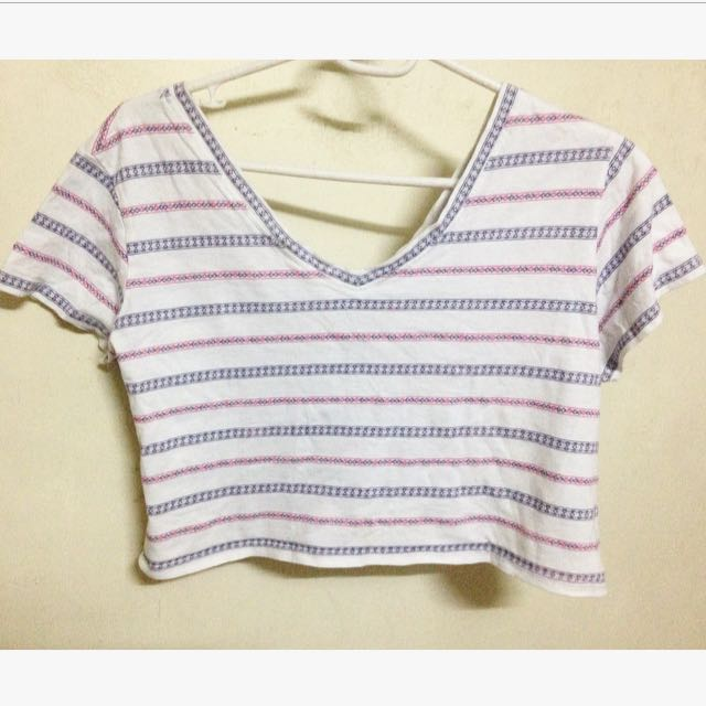 Aztech Cropped Top