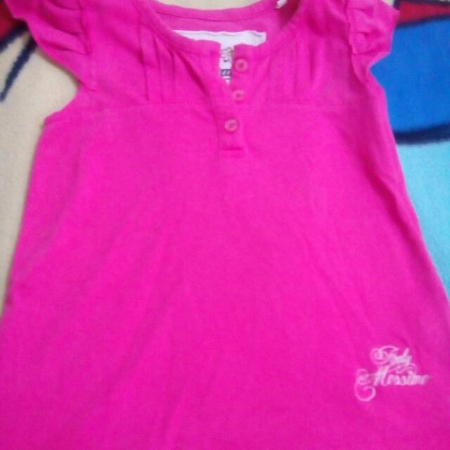 Baby Mossimo Pink Sleeveless Blouse