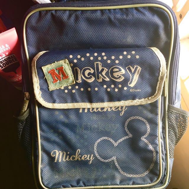 Backpack(ransel) mickey