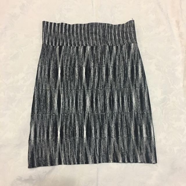 BCBG MAXAZRIA Bondage skirt