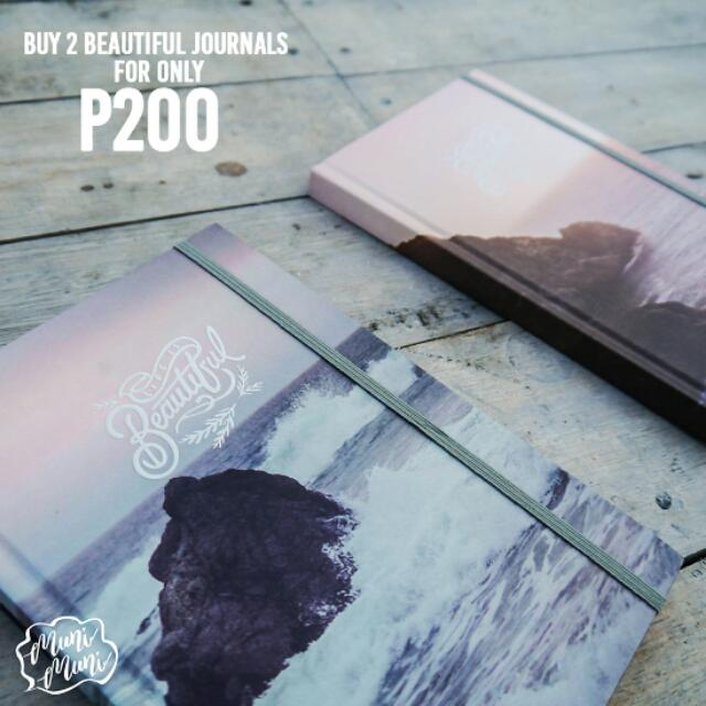 Beautiful Journal 2 For 200
