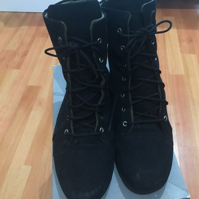 Black Boots Casual