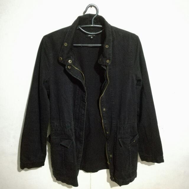 Black Coat Size 36