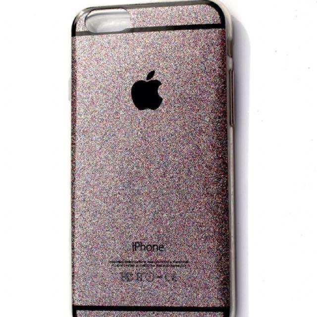 Black Glitter Phone Case