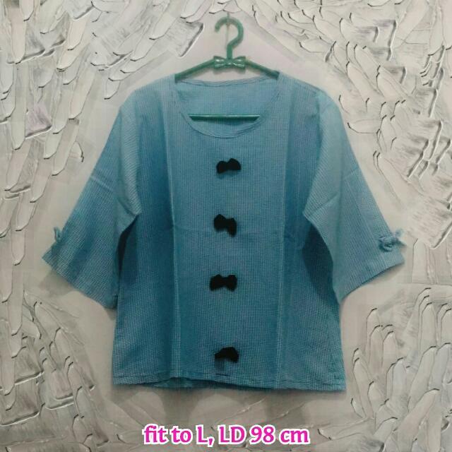 Blue Ribbon Blouse