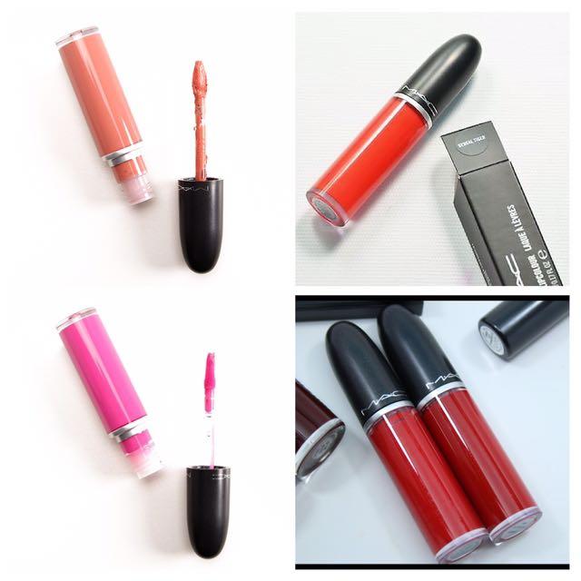 BNIB MAC RETRO LIQUID lipstick