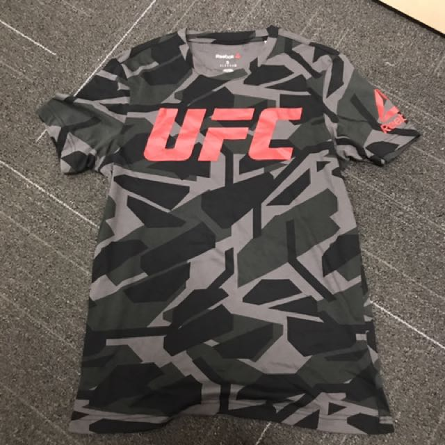 9bd6738a38 Brand New Reebok UFC T Shirt S Size, Sports, Sports Apparel on Carousell