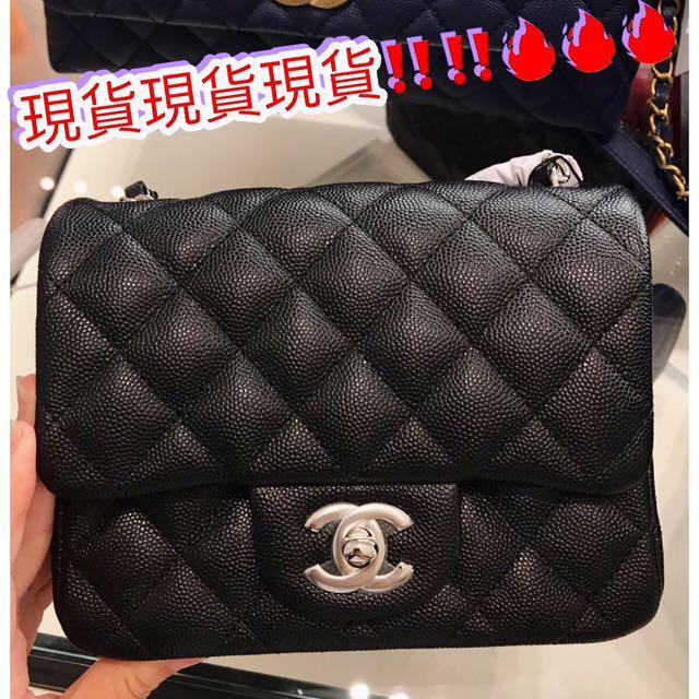 7c152a95ca404b Brand New Chanel Mini Square 17cm 現貨1個, Luxury, Apparel on Carousell