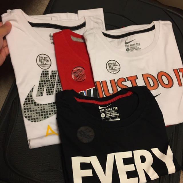 Brand NEW NIKE shirts