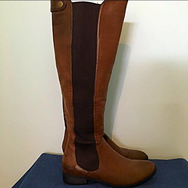 Brown Knee High Boot