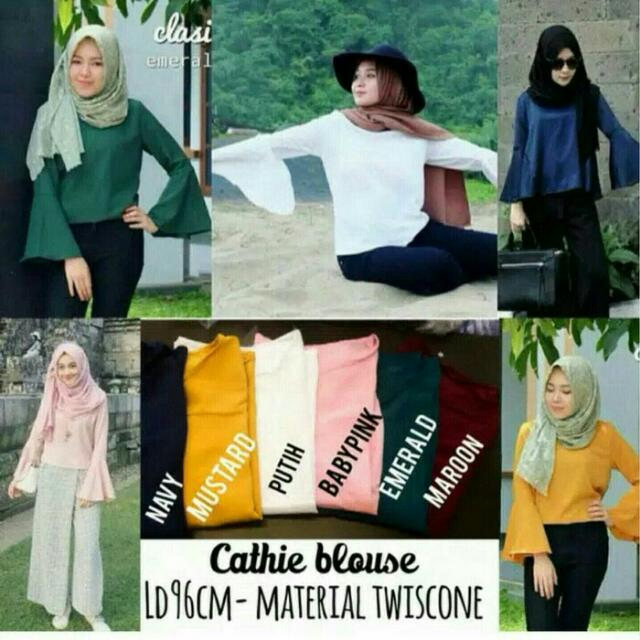 CATHIE BLOUSE • C&R