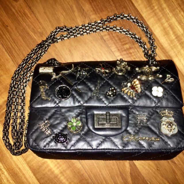 444bde750afa Chanel 2.55 Reissue Aged Calfskin Lucky Charms 224 Flap Bag, Luxury ...