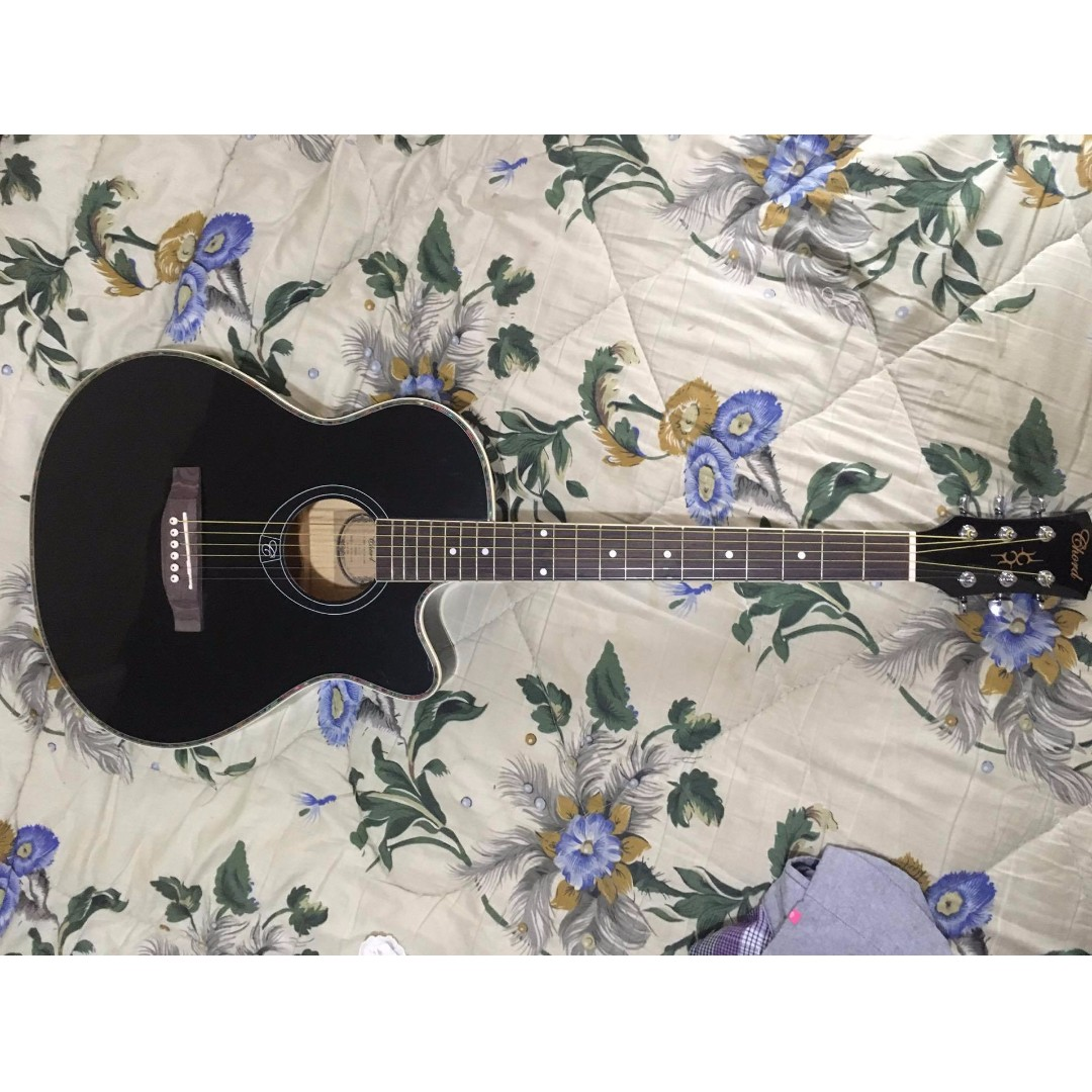 Chard Acoustic Guitar With Equalizer Music Media Music