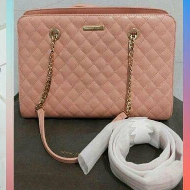 Charles And Keith Peach
