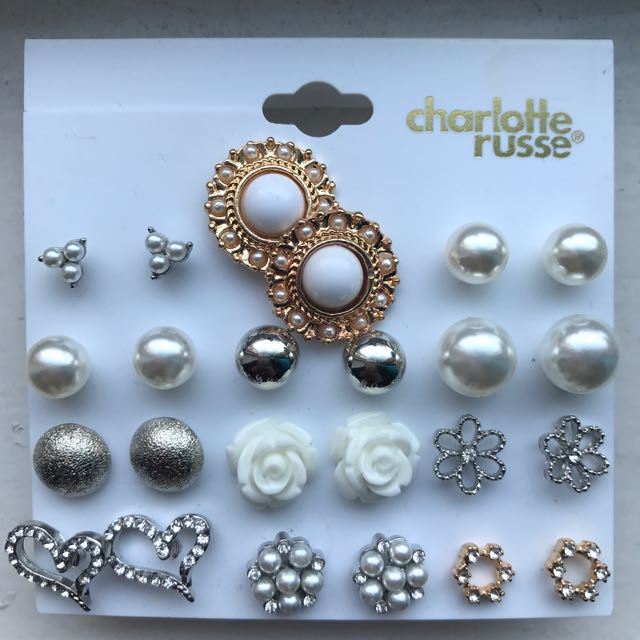 Charlotte Russe Stud Earrings