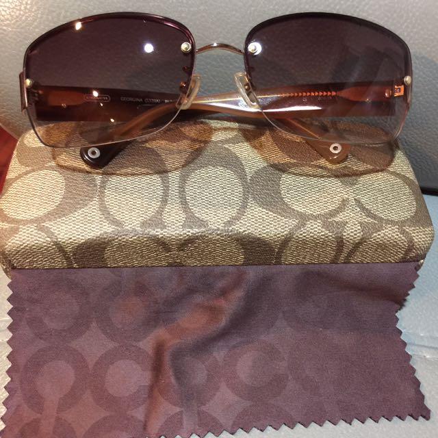 降價出清Coach太陽眼鏡(附原廠眼鏡盒和眼鏡布)