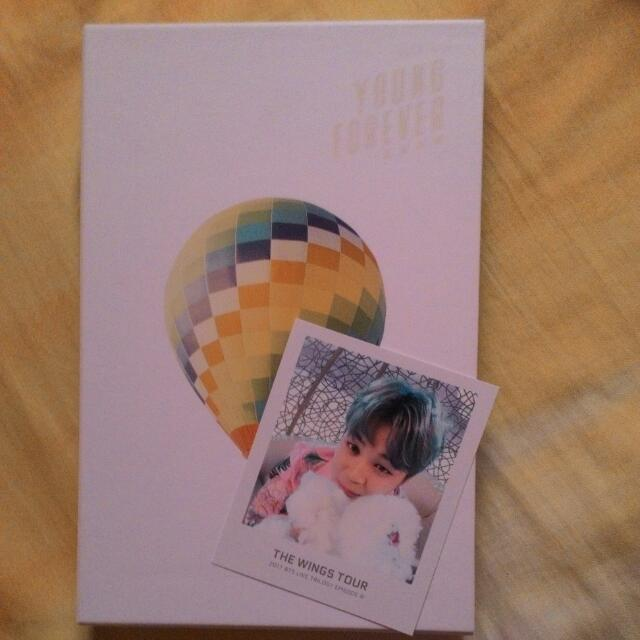 [COMBO SALE!]BTS YF DAY VER+WINGS TOUR JIMIN TICKET ALBUM PHOTOCARD(OFFICIAL)