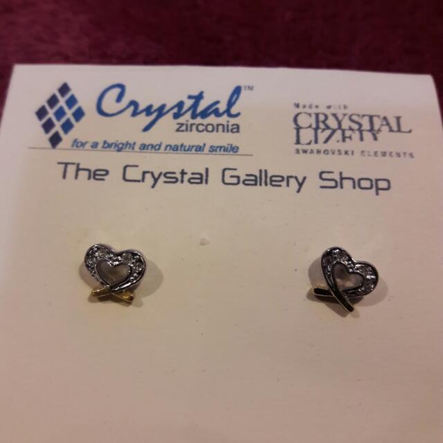 Crystal Zirconia Earrings