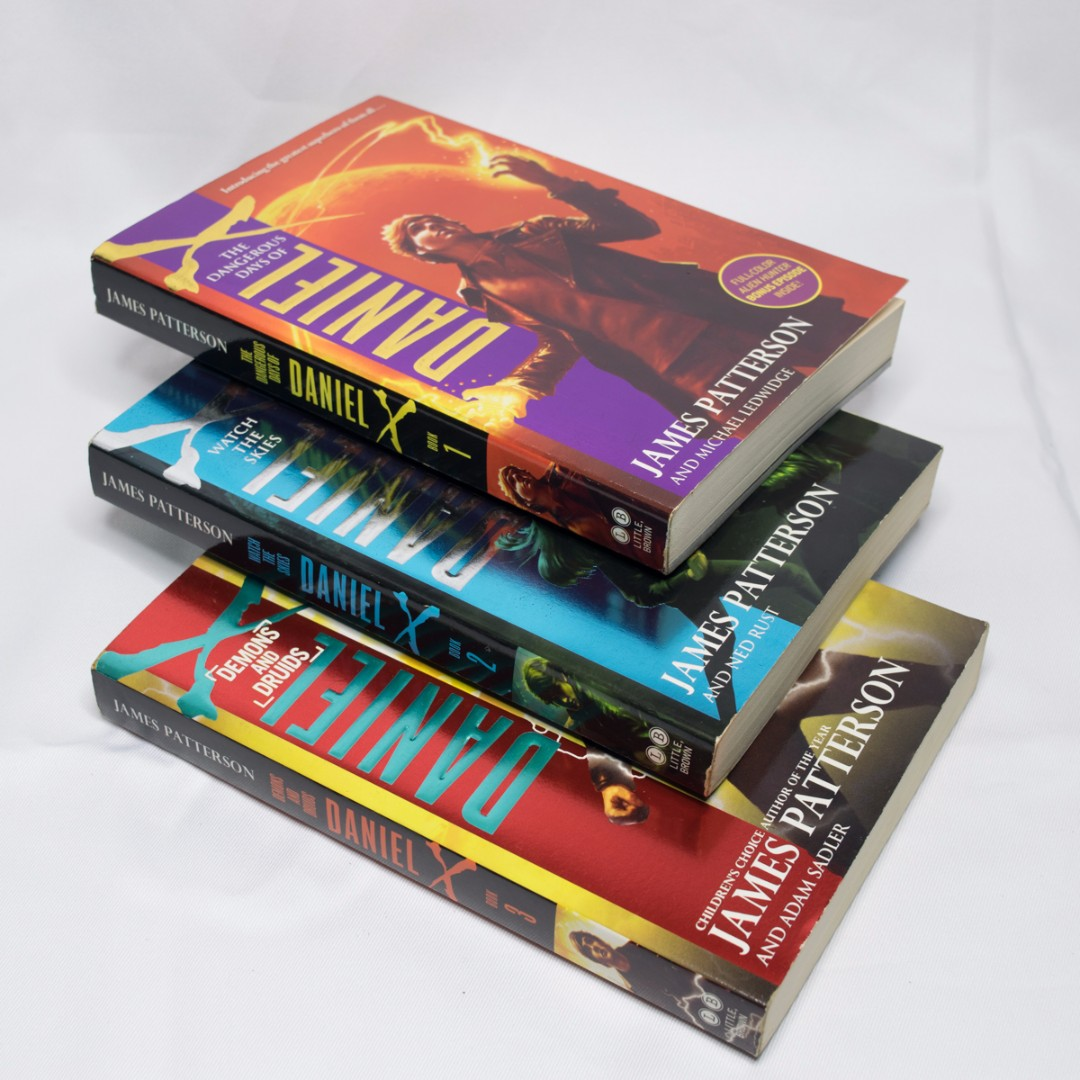 Daniel X - My Personal Collection - Books 1-3
