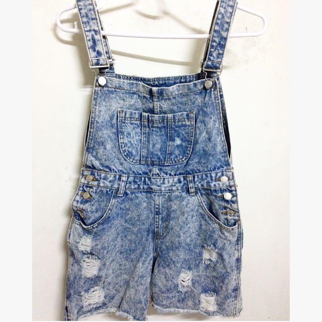 Denim Jumper Shorts ❤️