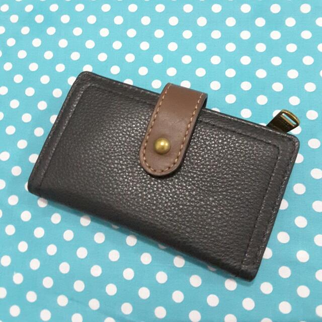 Fossil Wallet Black Authentic