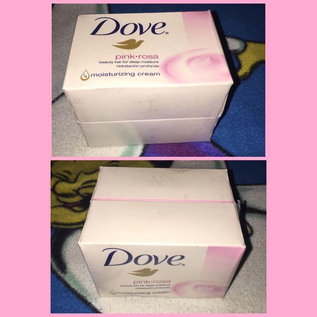 Dove Pink Rosa Bar Soap