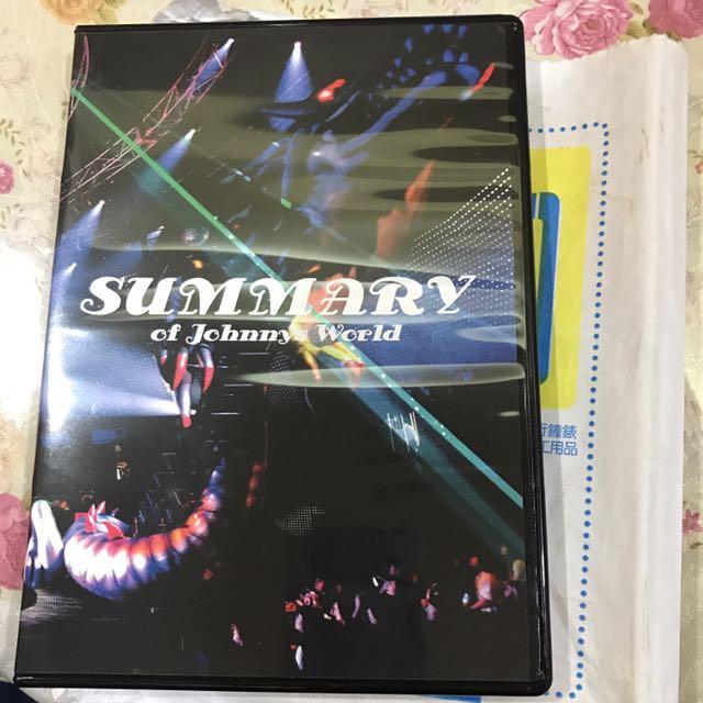 DVD 日本傑尼斯Summary of Johnnys World  2004