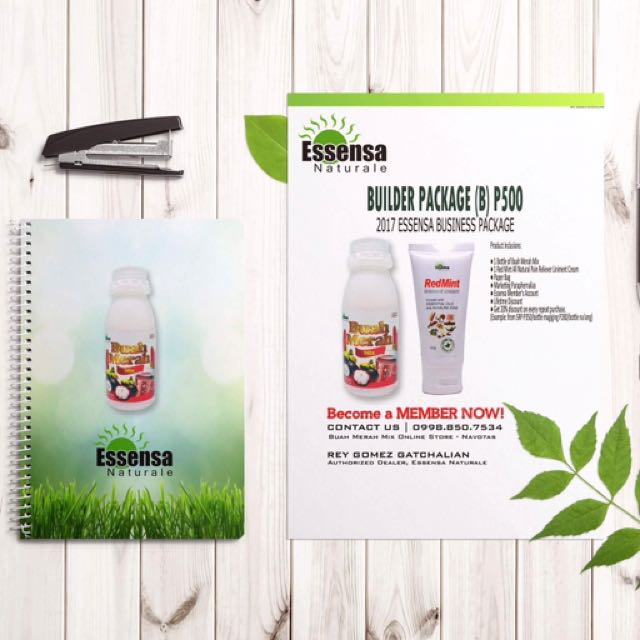 Essensa Buah Merah Mix - Builder Package