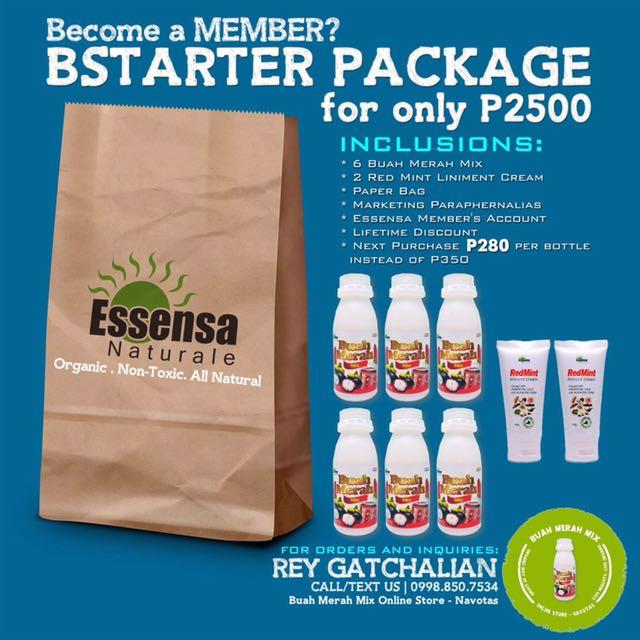 Essensa Starter Package