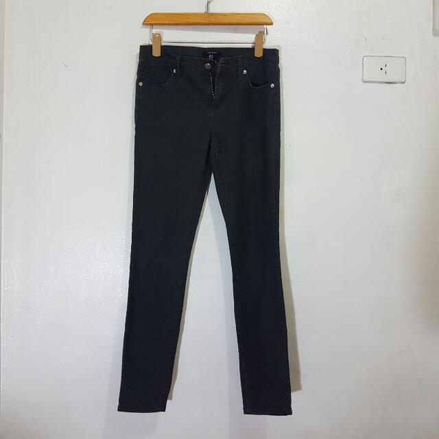 F21 Black Denim Pants