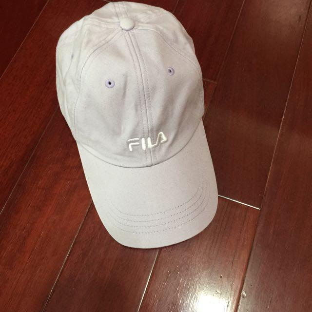 (二手)FILA淡紫色棒球帽
