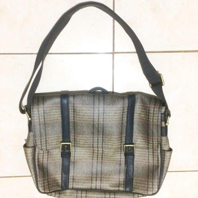 Fossil Satchel Bag (Unisex)