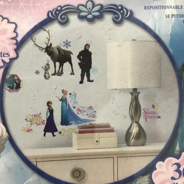 Frozen Decals For Kids Room