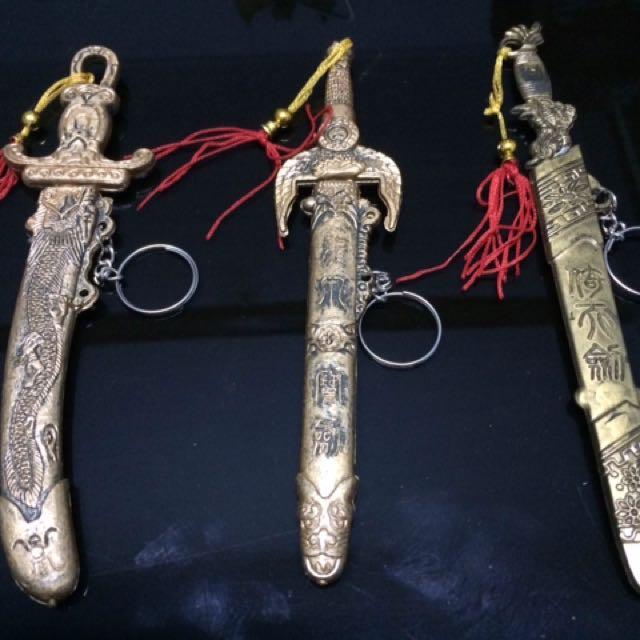 gantungan kunci - pedang kerajaan - size besar