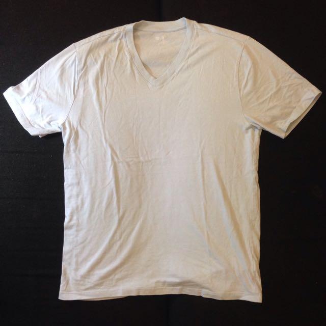 Gap Mens Shirt Light Blue Medium