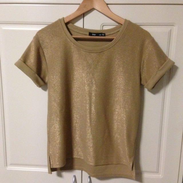 Gold Sportsgirl Sweater