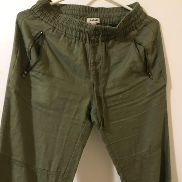 Green Garage Xs Pants