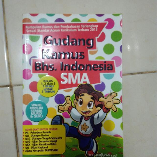 Gudang Kamus Bahasa Indonesia SMA