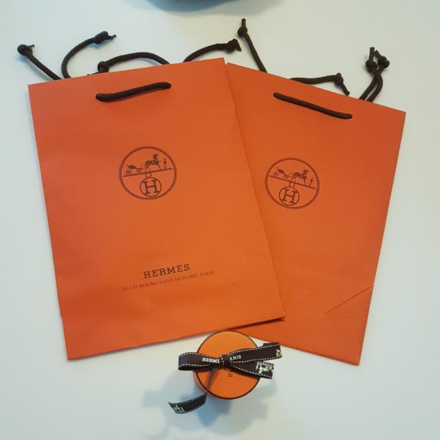hermes紙袋